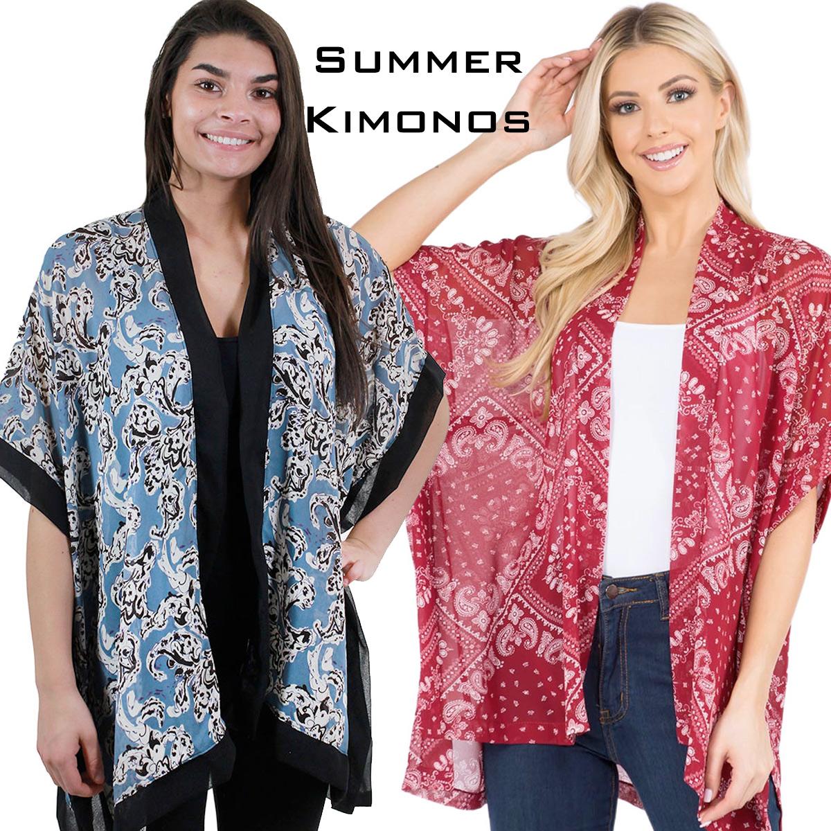 Wholesale Summer Kimonos