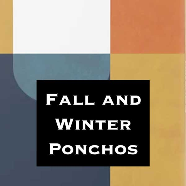 Wholesale Ponchos for Autumn