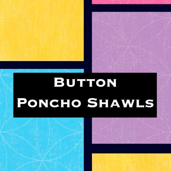 Wholesale Button Ponchos/Shawl Design