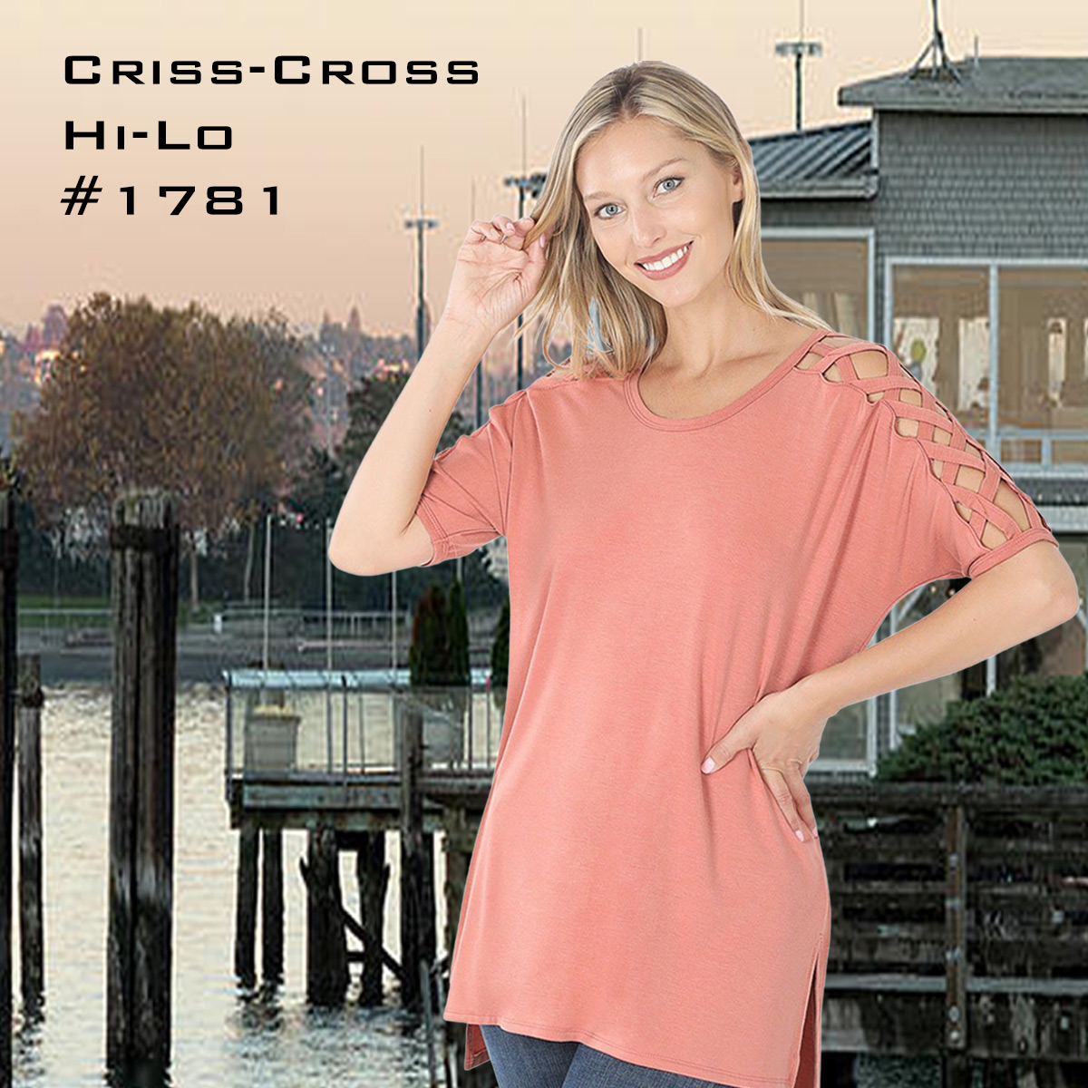 Criss-Cross Shoulder 1781