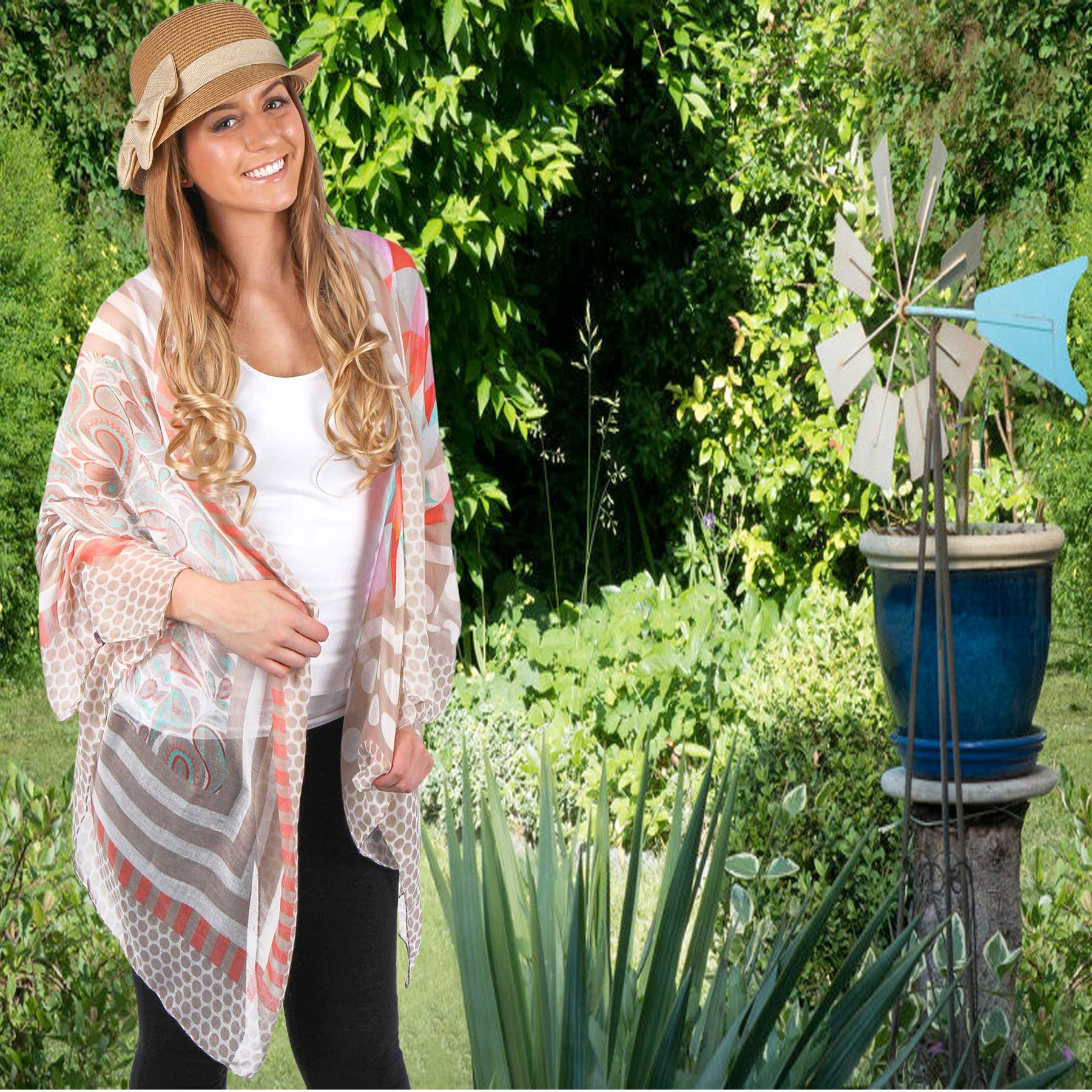 Summer Scarves and Shawls