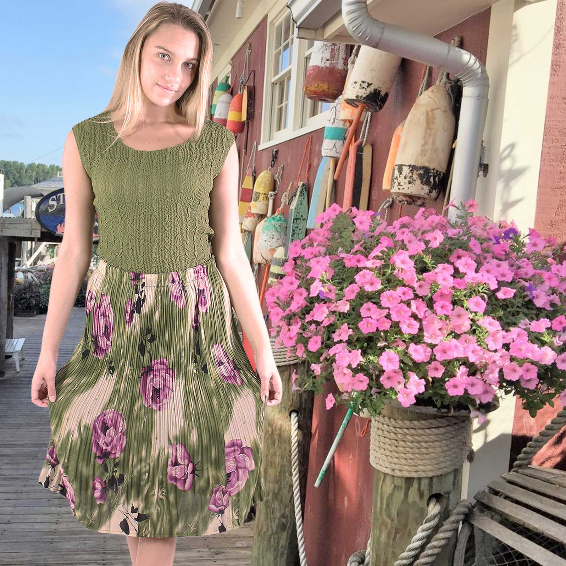 Skirts and Dresses for Summer