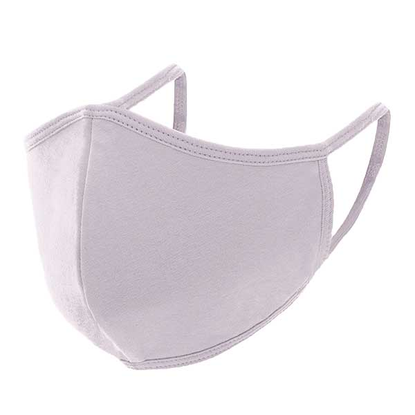 Protective Masks Multi Layer by Lola  TS03 Triple Ply 95% Cotton 5% Spandex  (Lilac) - Masks Multi Layer by Lola  -