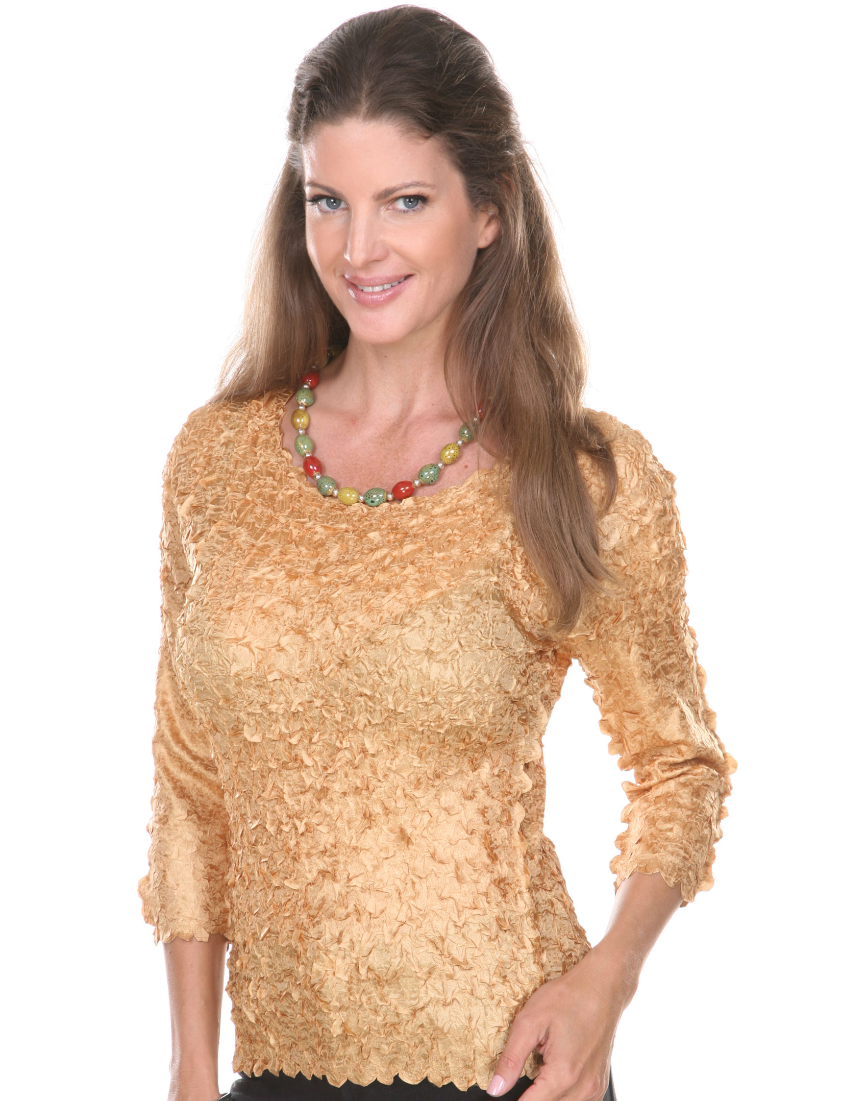 wholesale Petal Shirts - Three Quarter Sleeve