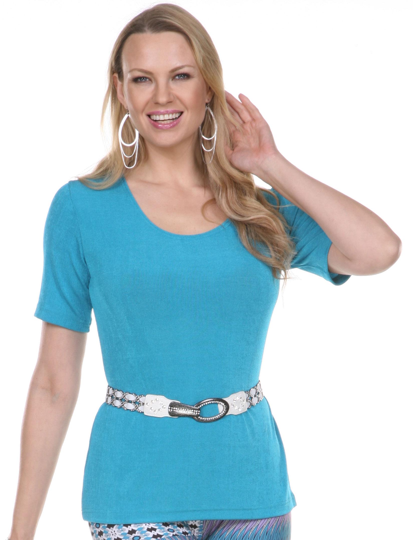 wholesale Slinky Travel Tops - Short Sleeve*
