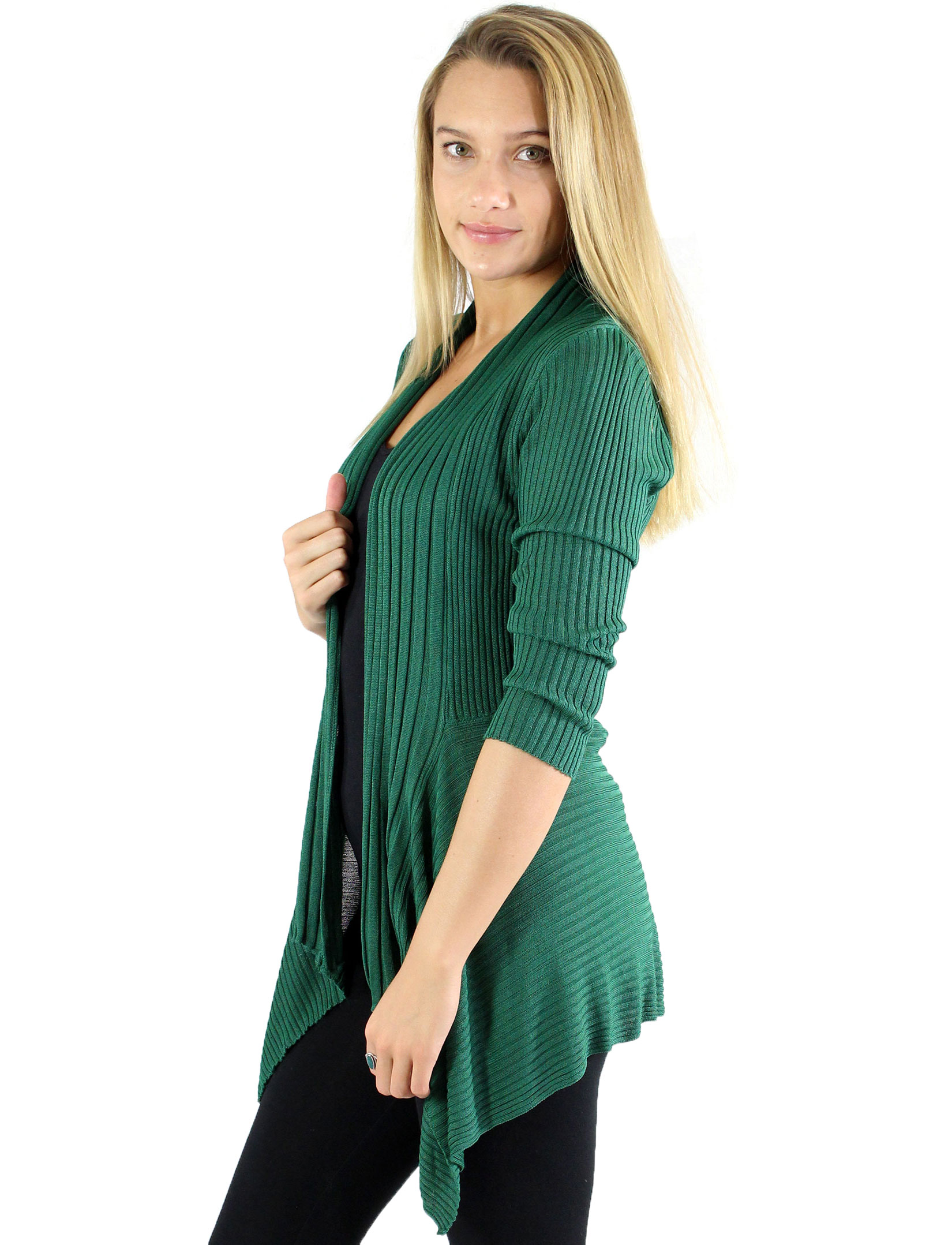 wholesale Magic Convertible Ribbed Sweater