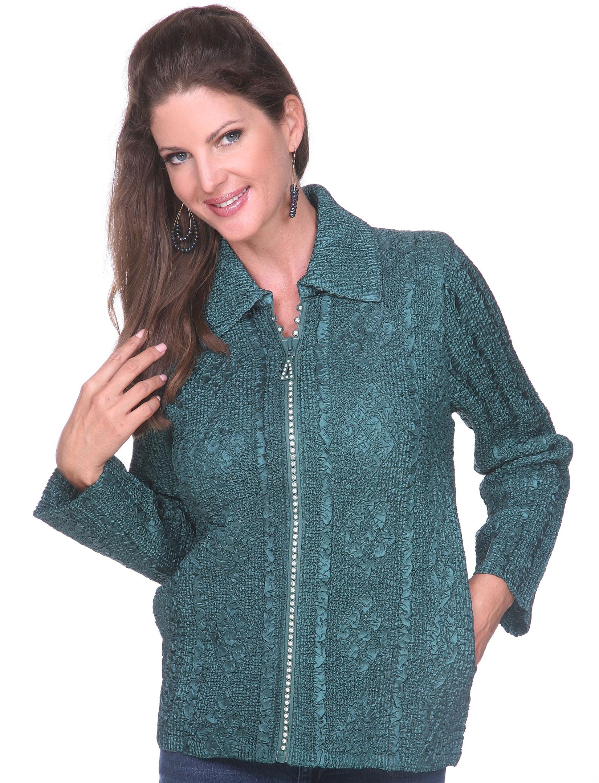 wholesale Diamond Zipper Jackets