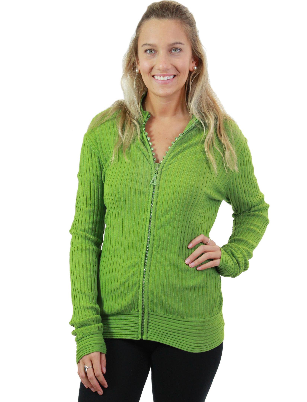 wholesale Crystal Zipper Sweater*