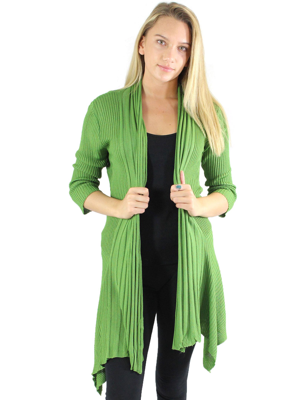 wholesale Magic Convertible Long Ribbed Sweater