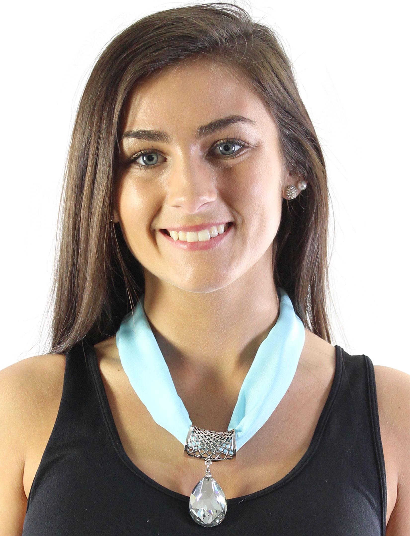 wholesale Chiffon Magnet Necklace w/ Optional Pendant