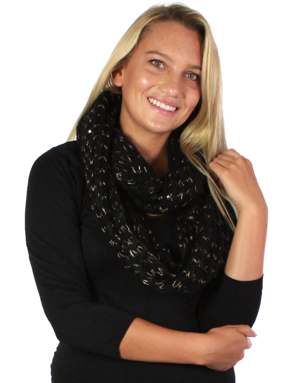 wholesale Infinity Scarves - Crochet Sparkle 4082*