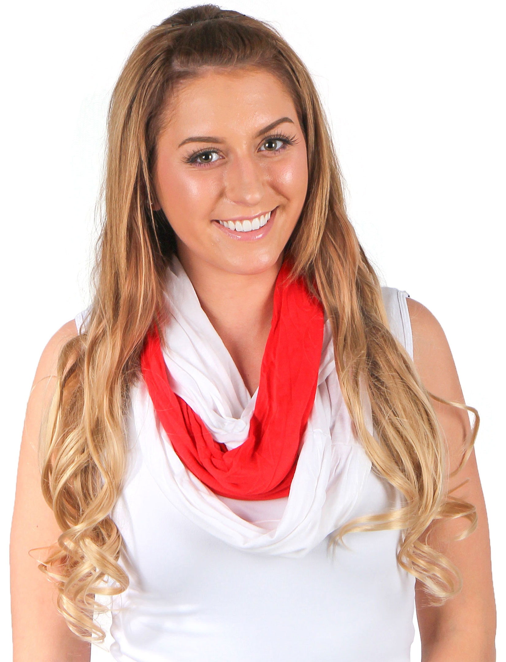 wholesale C Double Infinity Scarves - Team Spirit 200*