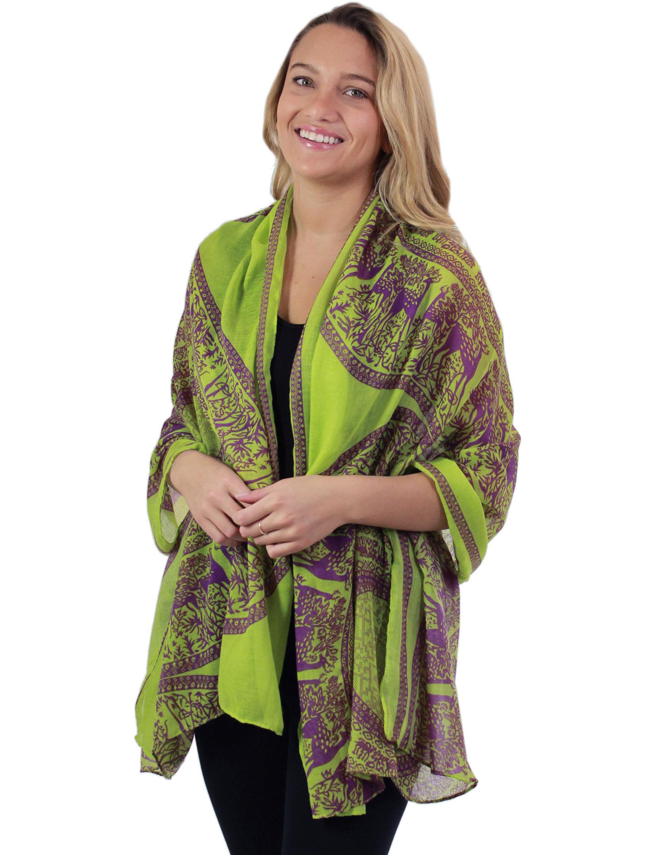 wholesale Big Scarves/Shawls - Aztec Print 4341*