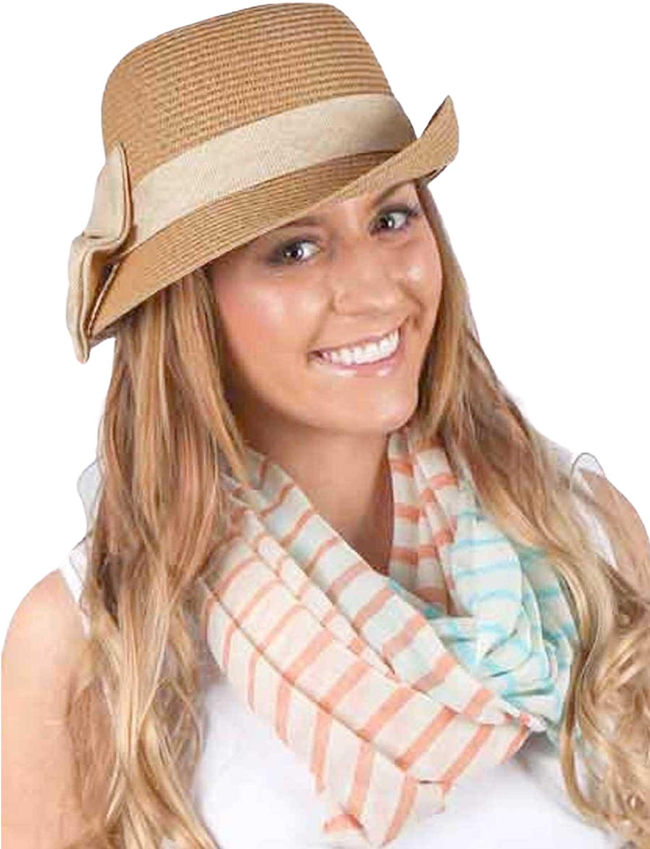 wholesale Infinity Scarves Wide - Multi Color Stripe 0830