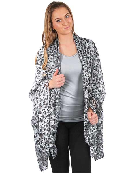 wholesale Big Scarves/Shawls - Animal Print 1004*