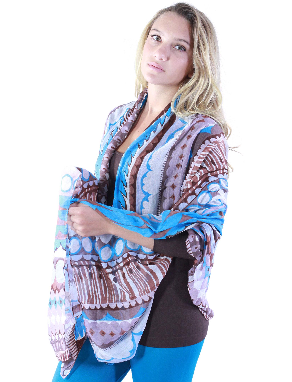 wholesale Big Scarves/Shawls - Geometric Designs 1043*