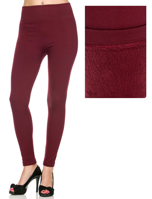 wholesale Winter Leggings - Fleece and Fur Lining (2278)