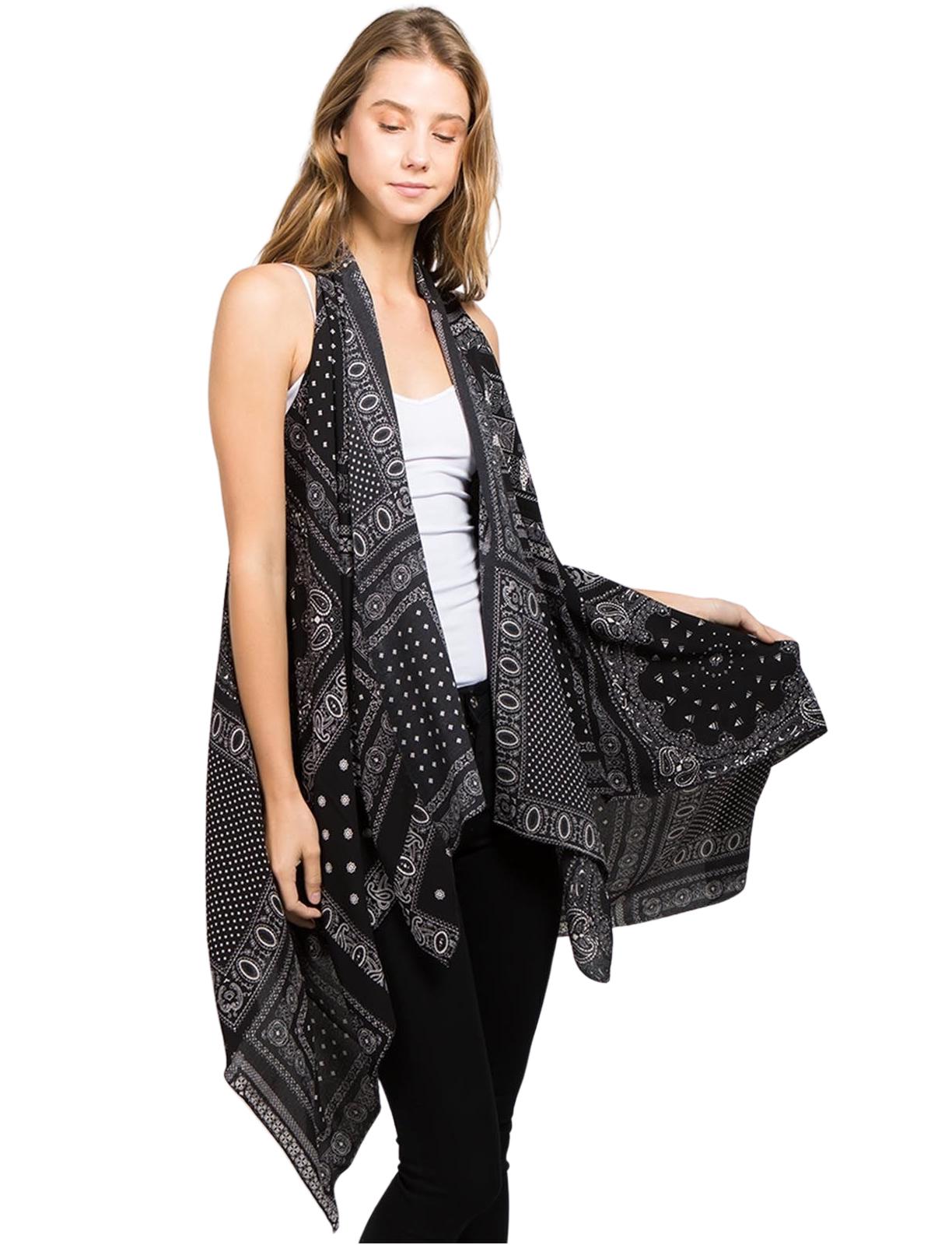 wholesale Crepe Vests (Style 2)