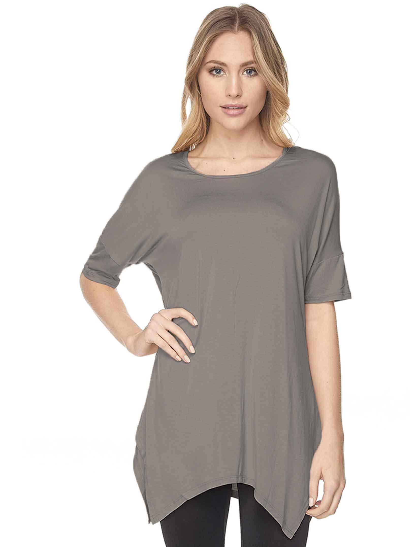 wholesale Tunics - Modal Rayon Sharkbite 1398