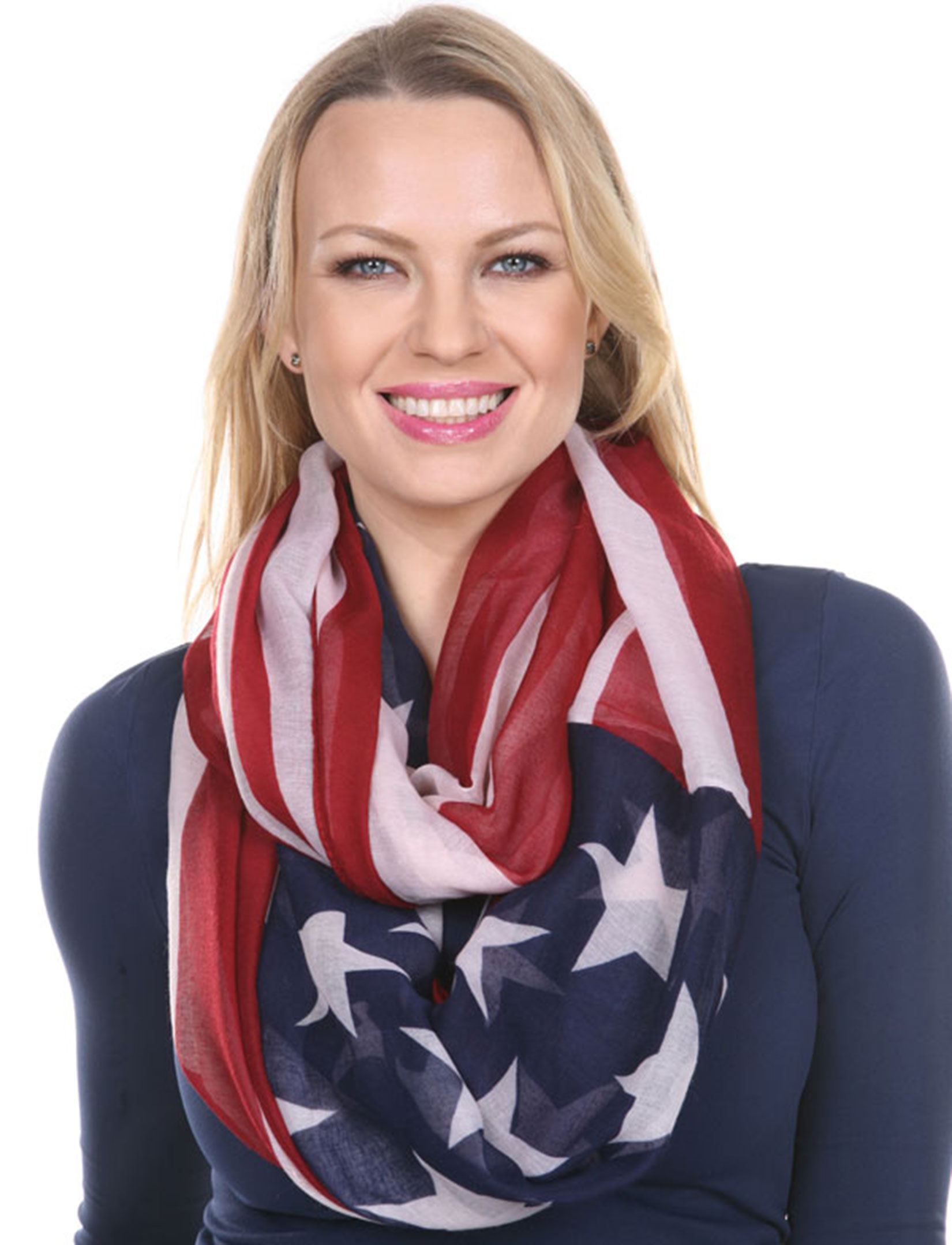wholesale Scarves - American Flag Designs