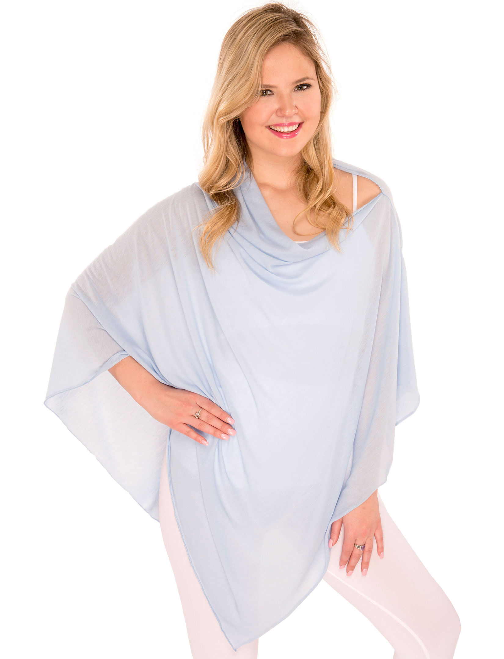 wholesale Poncho - Jersey Knit