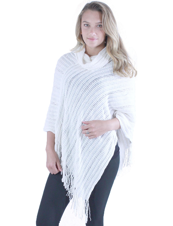 wholesale C Poncho - Knit Sequins Deco 9153