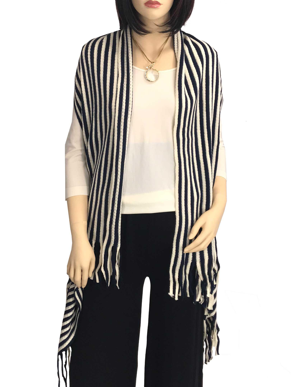 Vests - Knit Striped 9182
