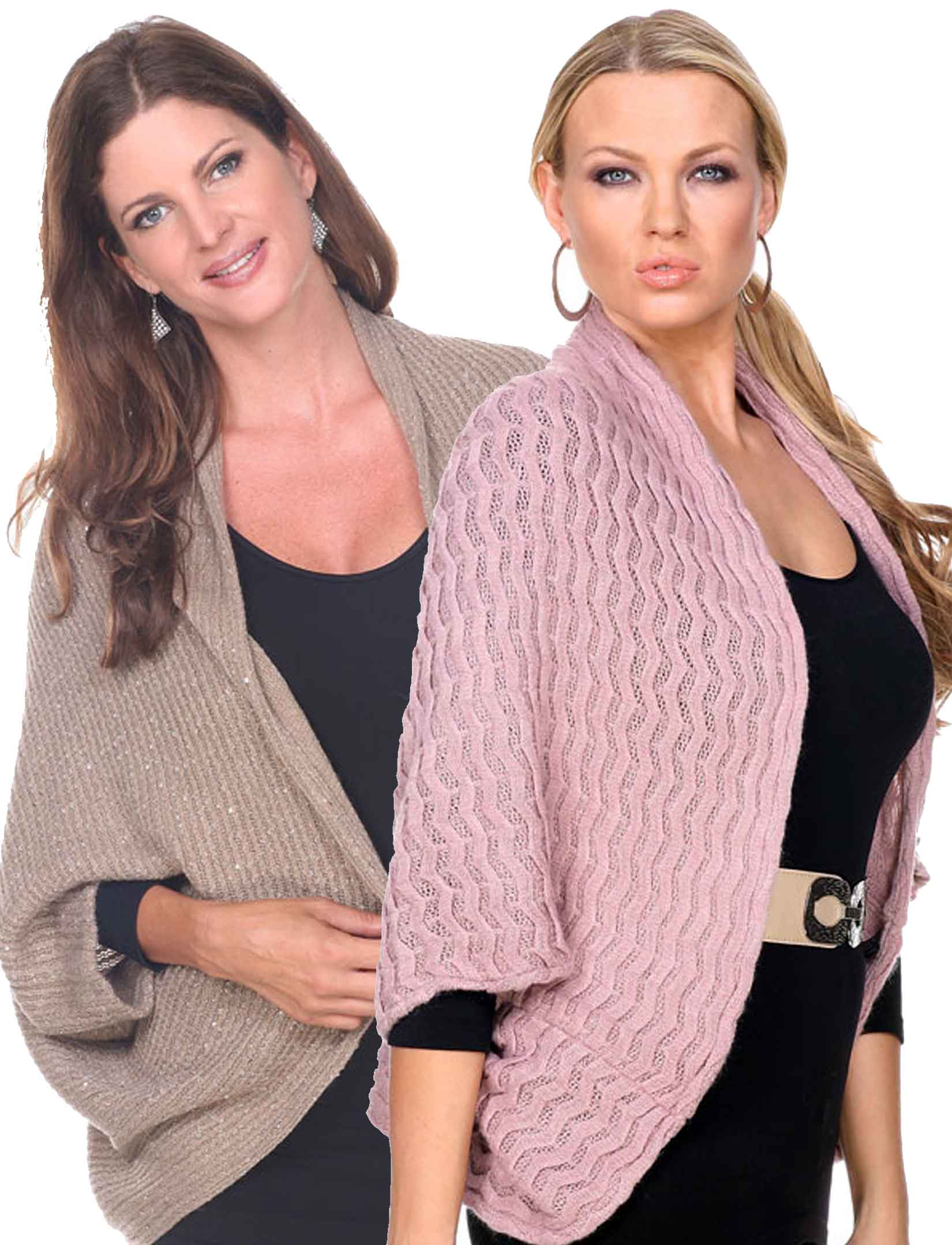 wholesale Cozy Shrugs and Knitted Capes