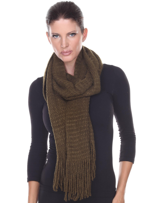 wholesale Winter Oblong Scarves - Plush Designs