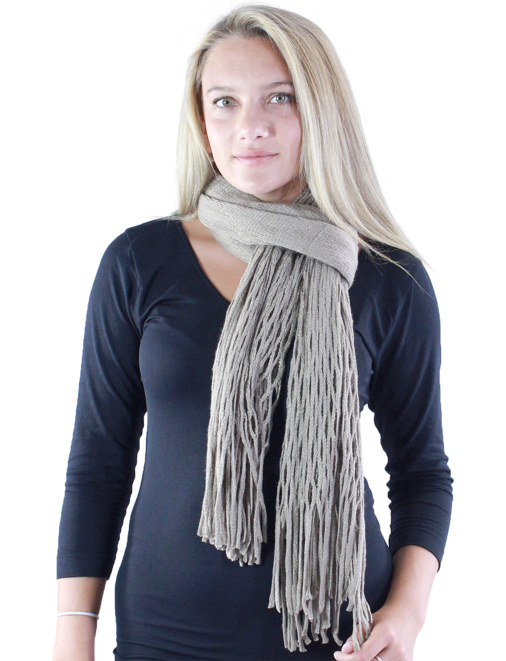 wholesale Winter Oblong Scarves - Knitted
