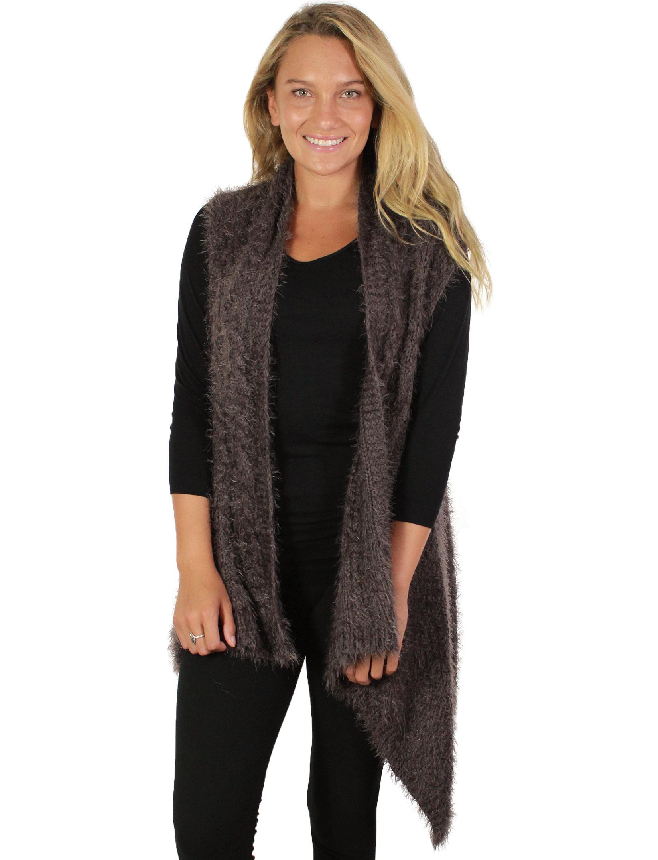 wholesale Vests - Eyelash Fur Design 8183