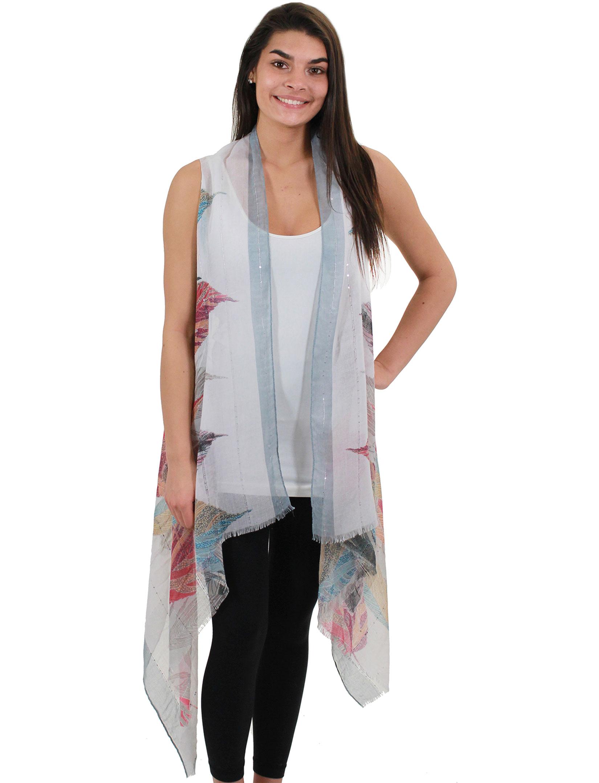 wholesale Vests - Feather w/ Sequins 9271