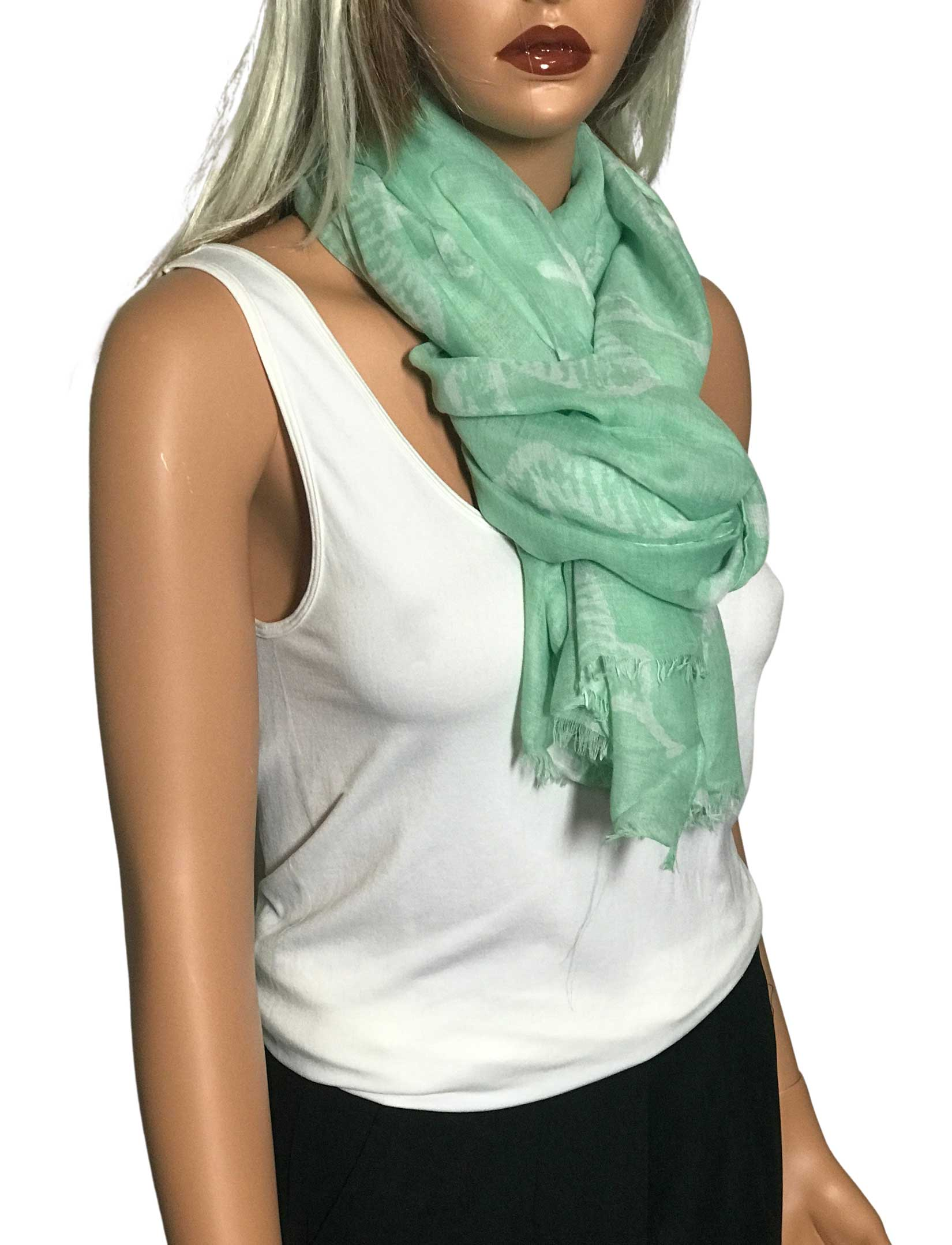wholesale Nautical Print Scarves and Shawls