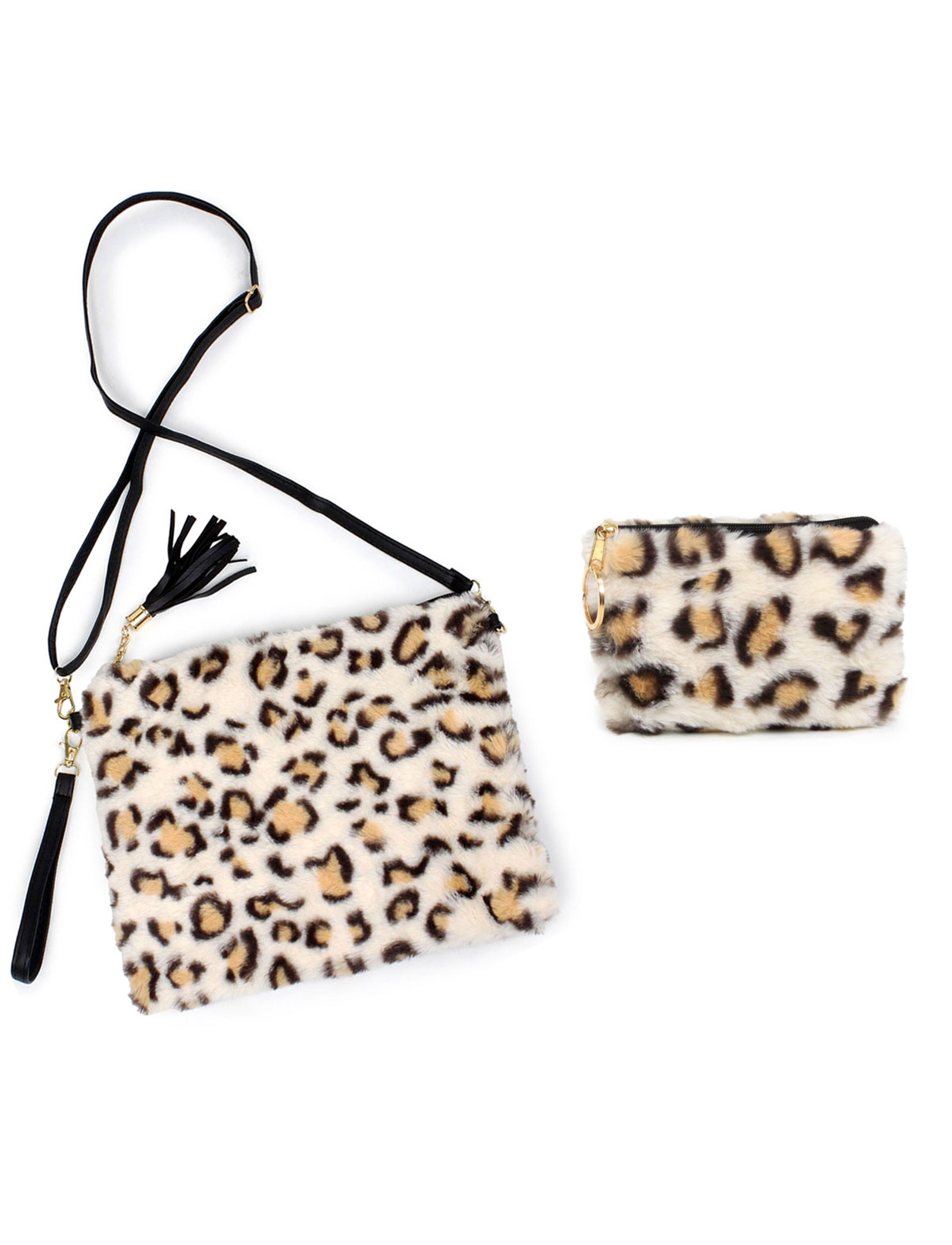 Fur Crossbody Bags & Coin Purses