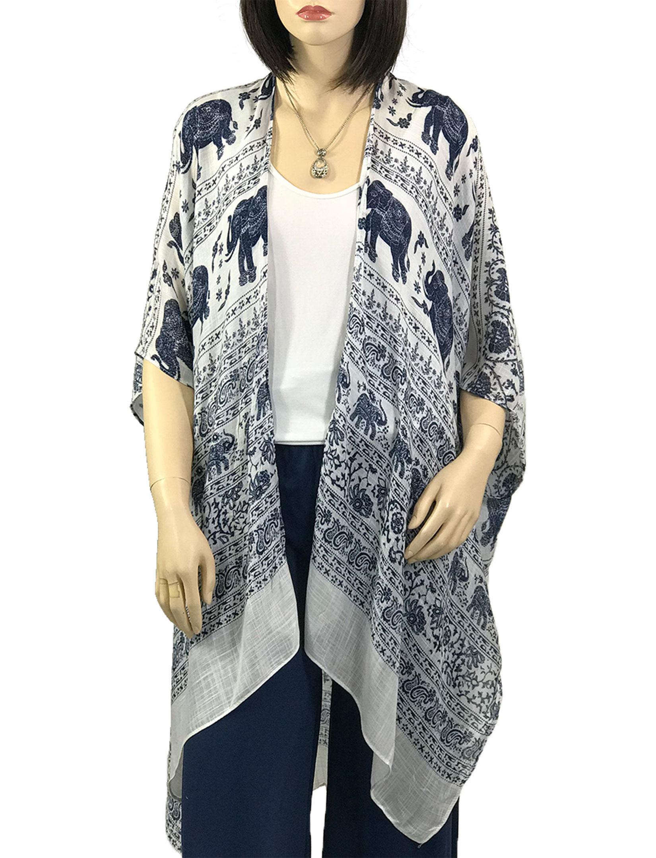 wholesale Kimono - Elephant Print 290