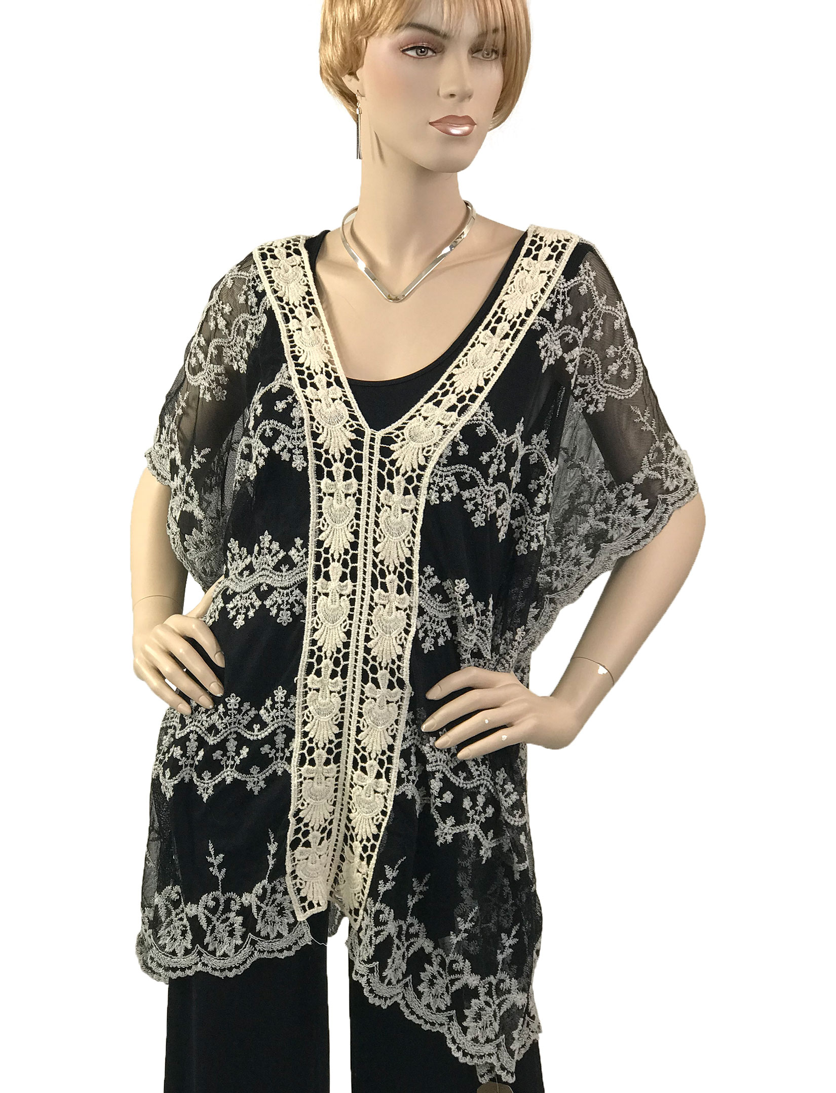 wholesale Top - Lace Embroidered 1618