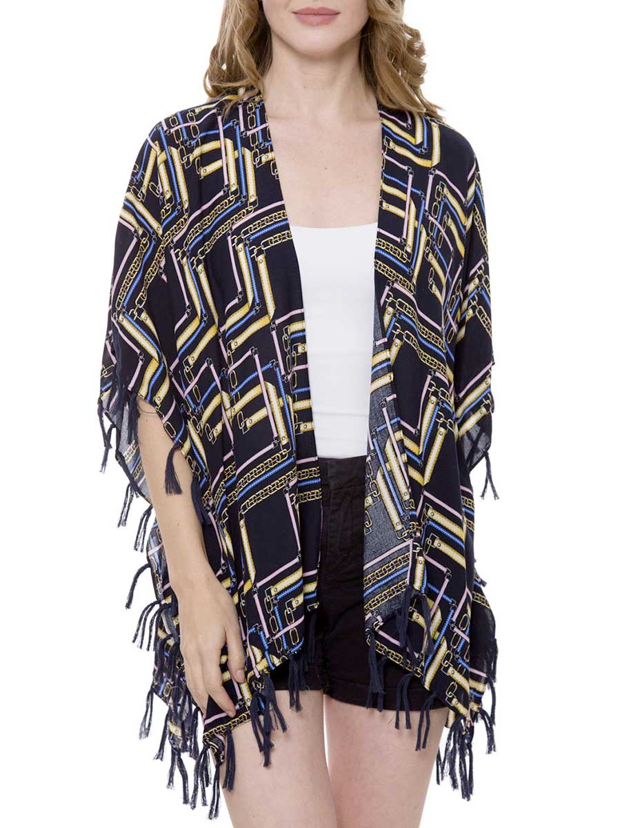 Kimono - Tasseled Summer Coverup 1371 & 1375