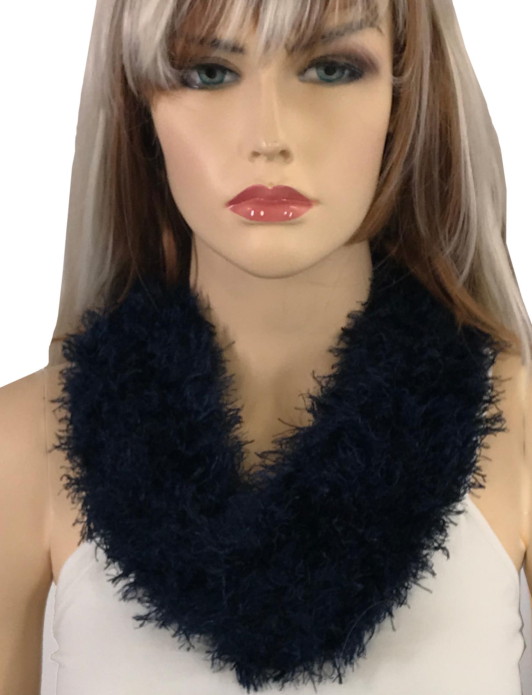 wholesale Magnetic Clasp Scarves (Eyelash Yarn)