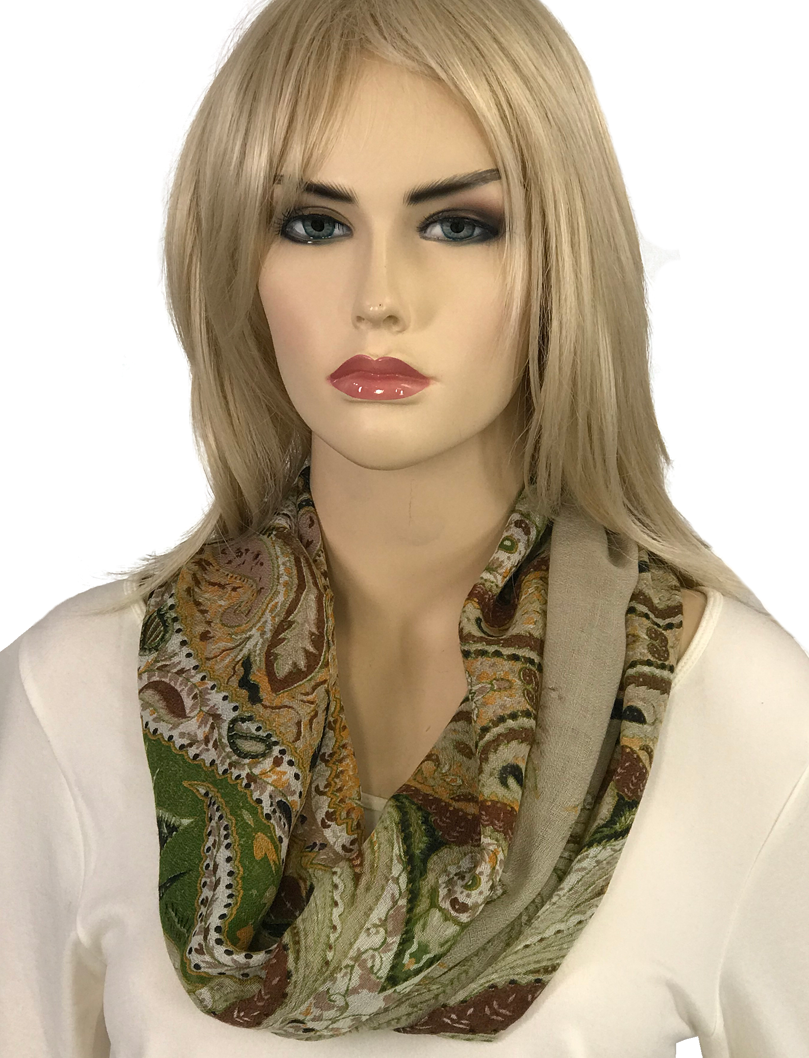 wholesale Magnetic Clasp Scarves (Gypsy Prints)