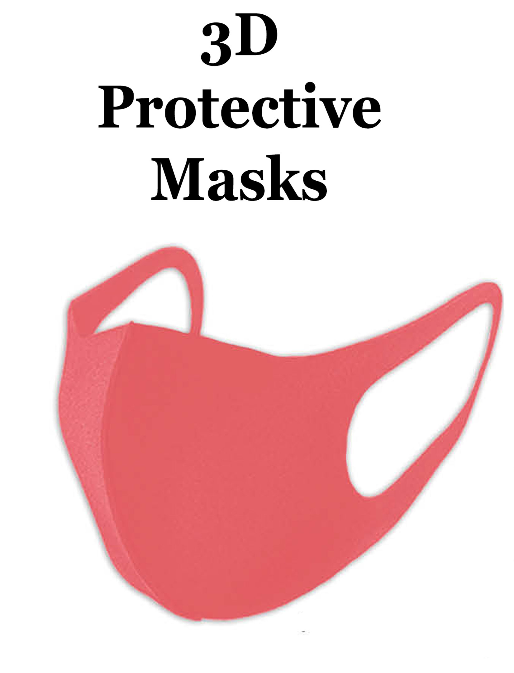 Protective Mask Laser Cut 3D Design