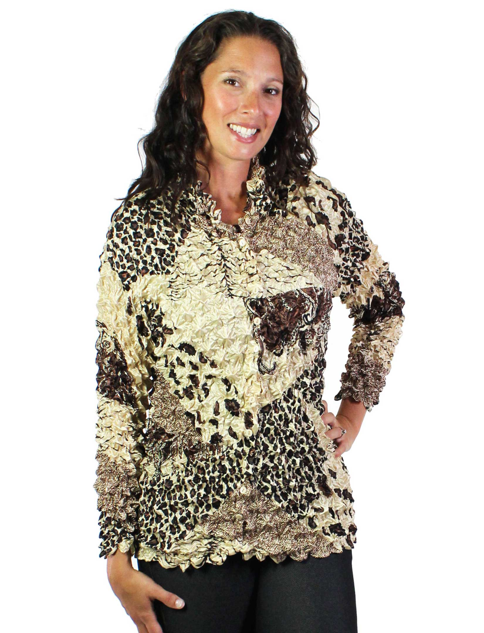 wholesale Gourmet Popcorn - Cardigans with Collar