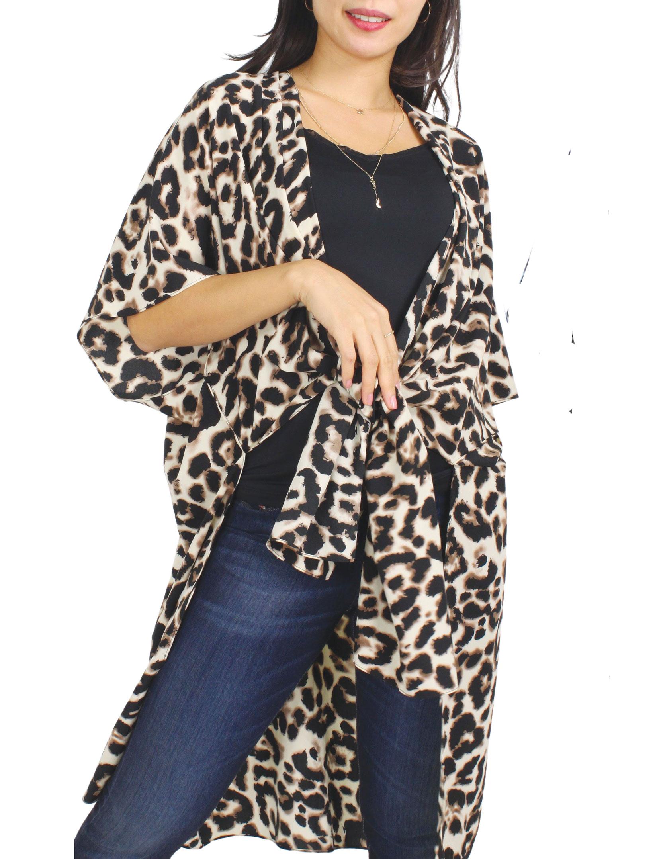Kimono Style - Leopard Print 9930
