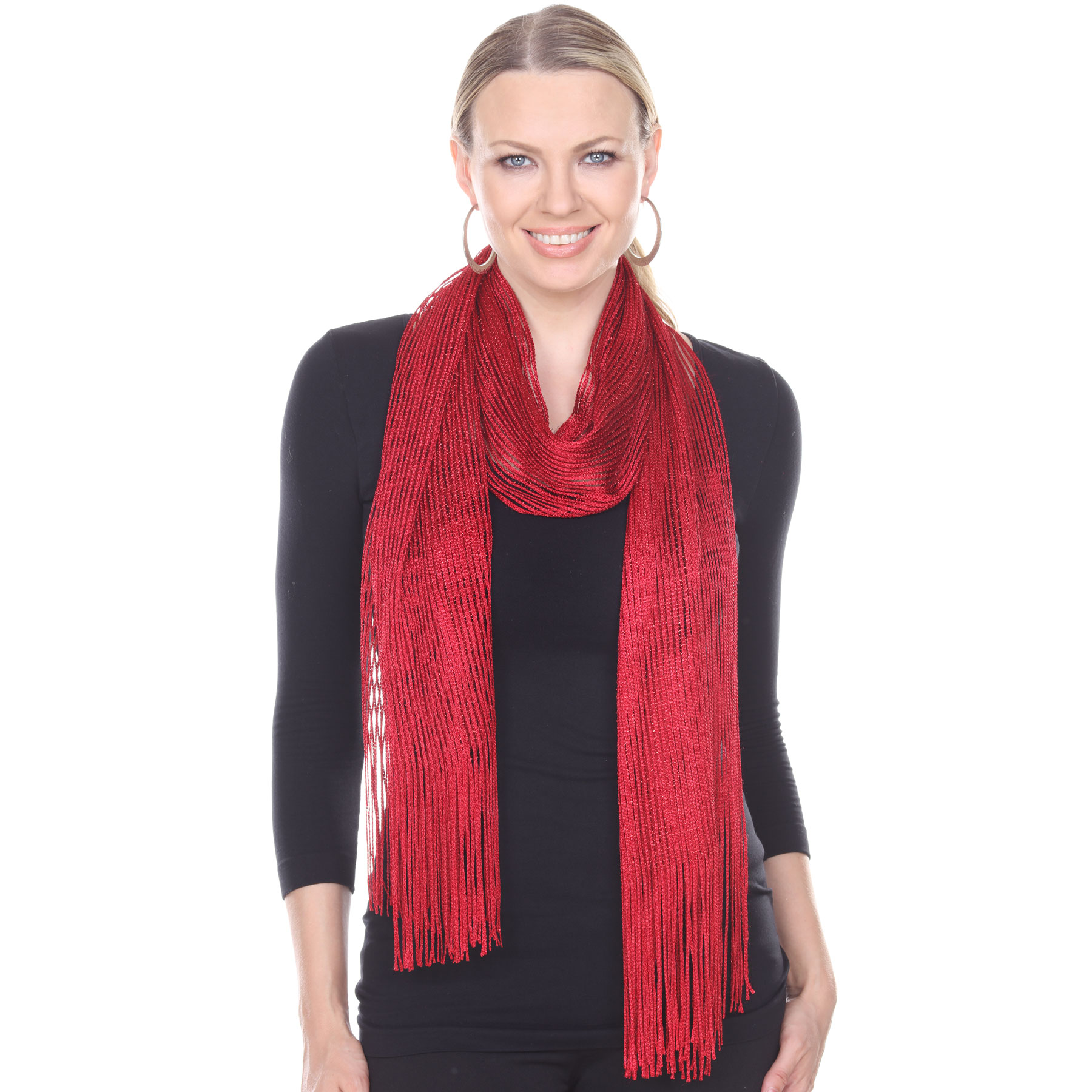 Oblong Scarves - Metallic 3117*