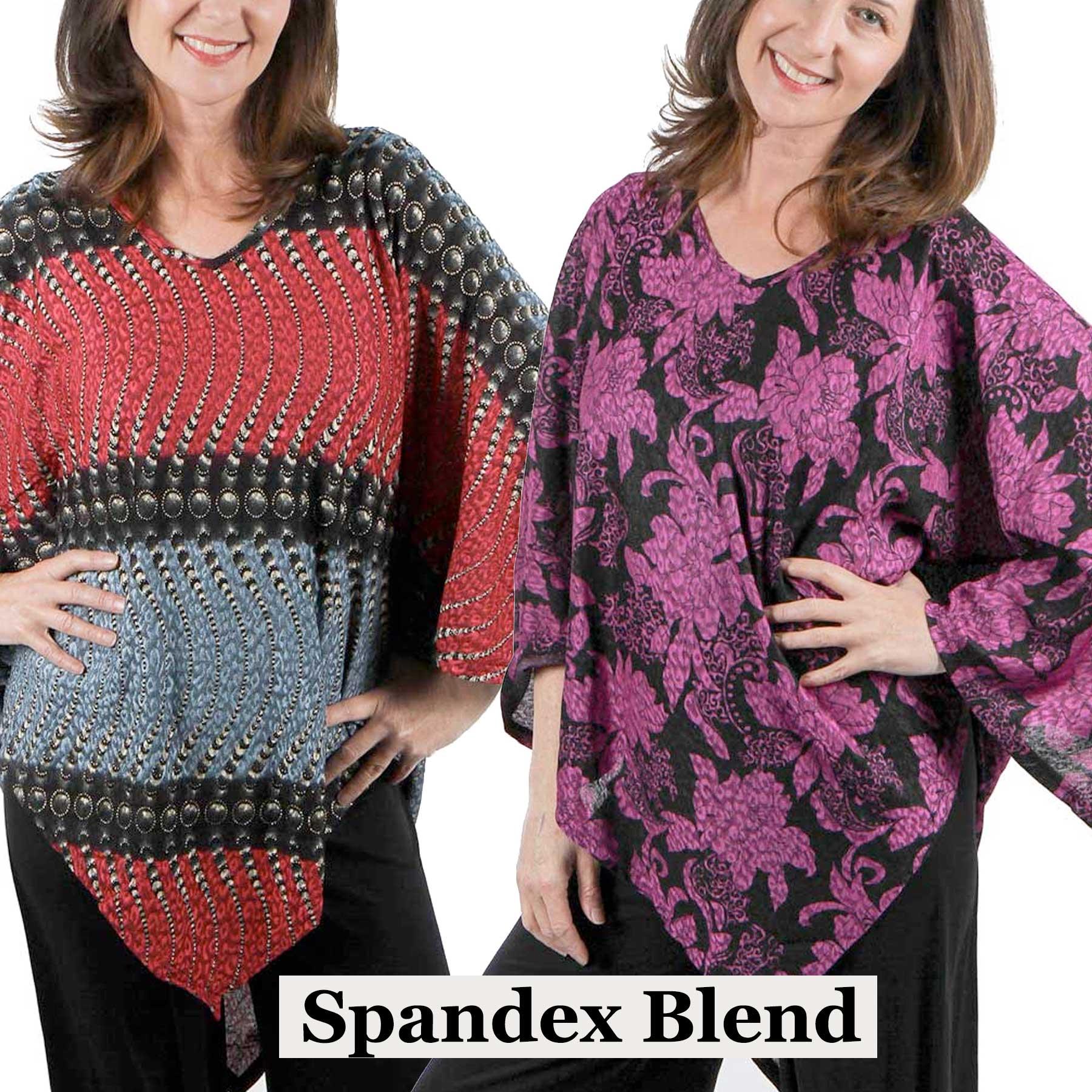 Slinky Spandex Weave Poncho*
