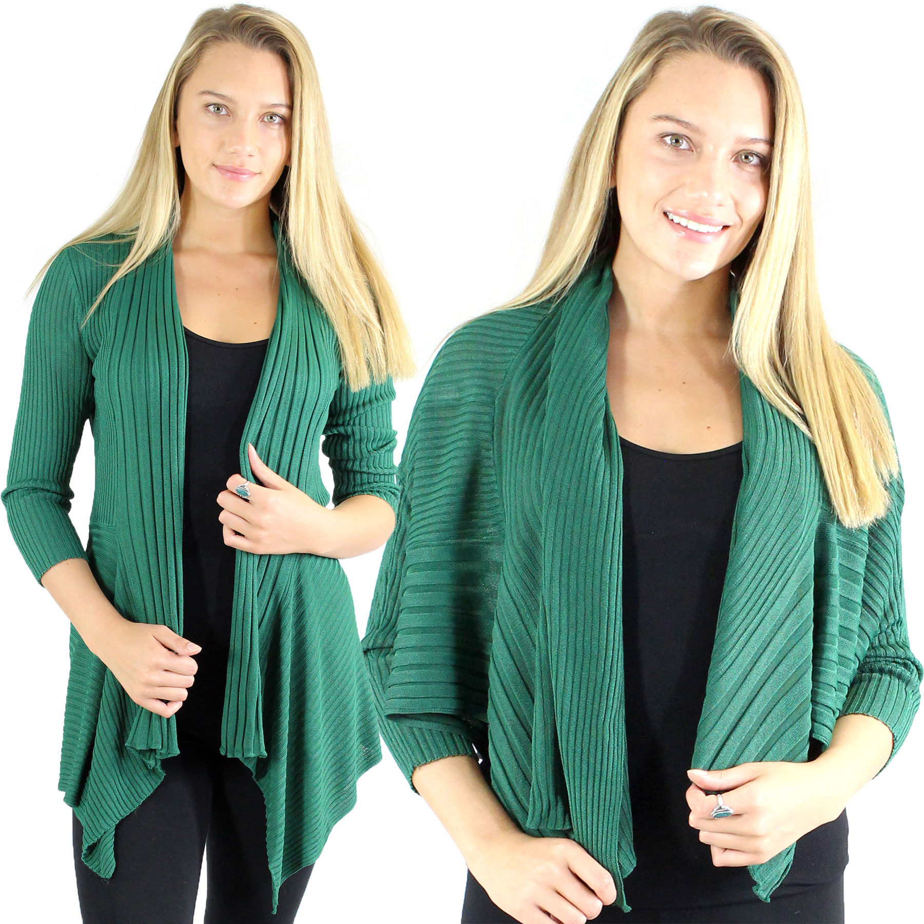 Magic Convertible Ribbed Sweater