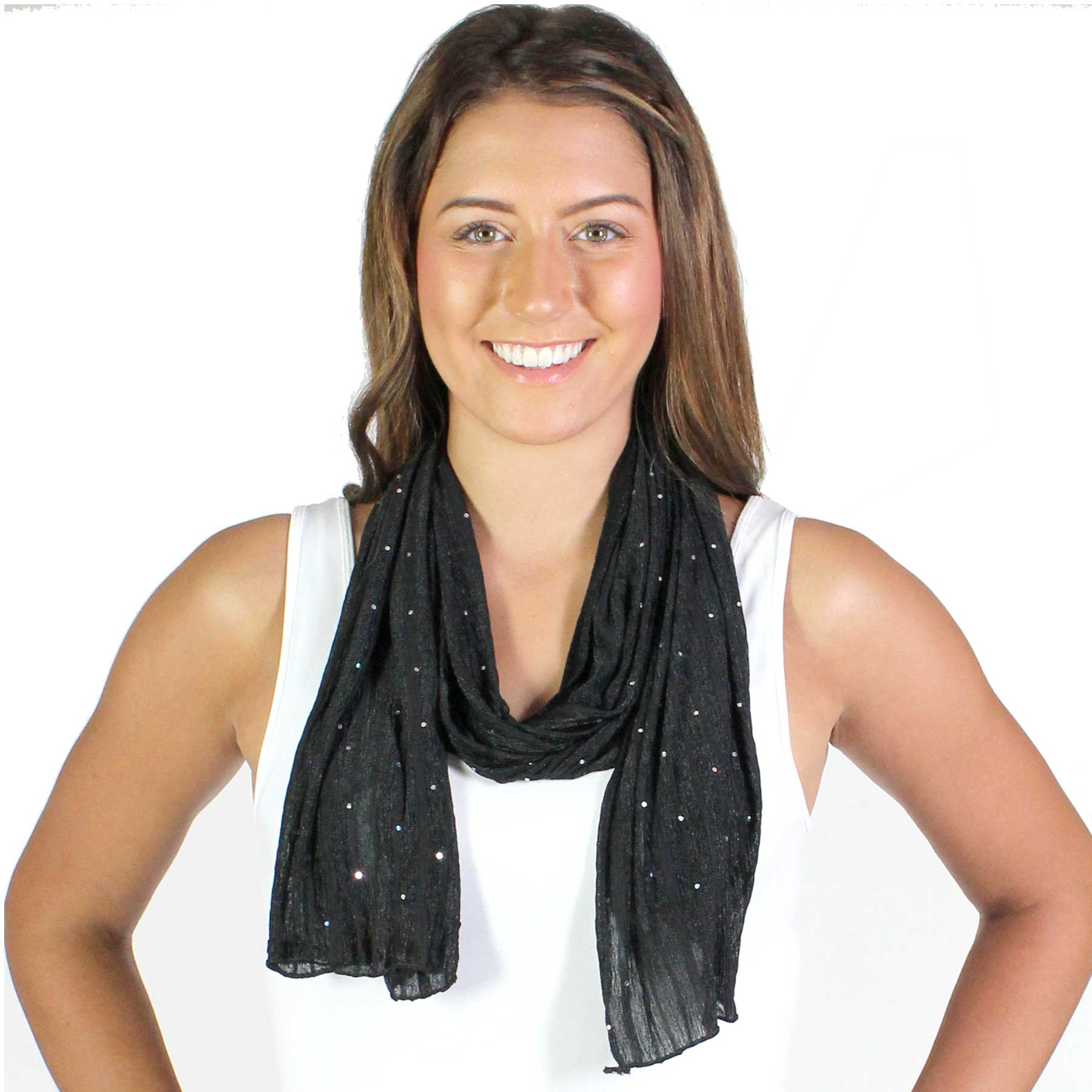 Oblong Scarves - Sequined 4118*