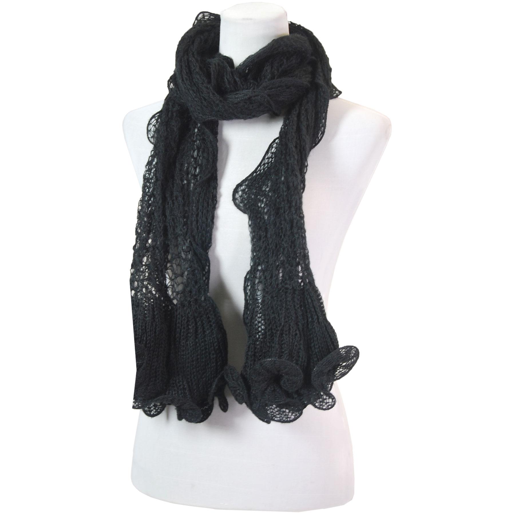 Oblong Scarves - Crochet Wave 4068*
