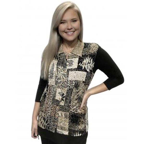 Magic Crush - Reversible Button Up Vests