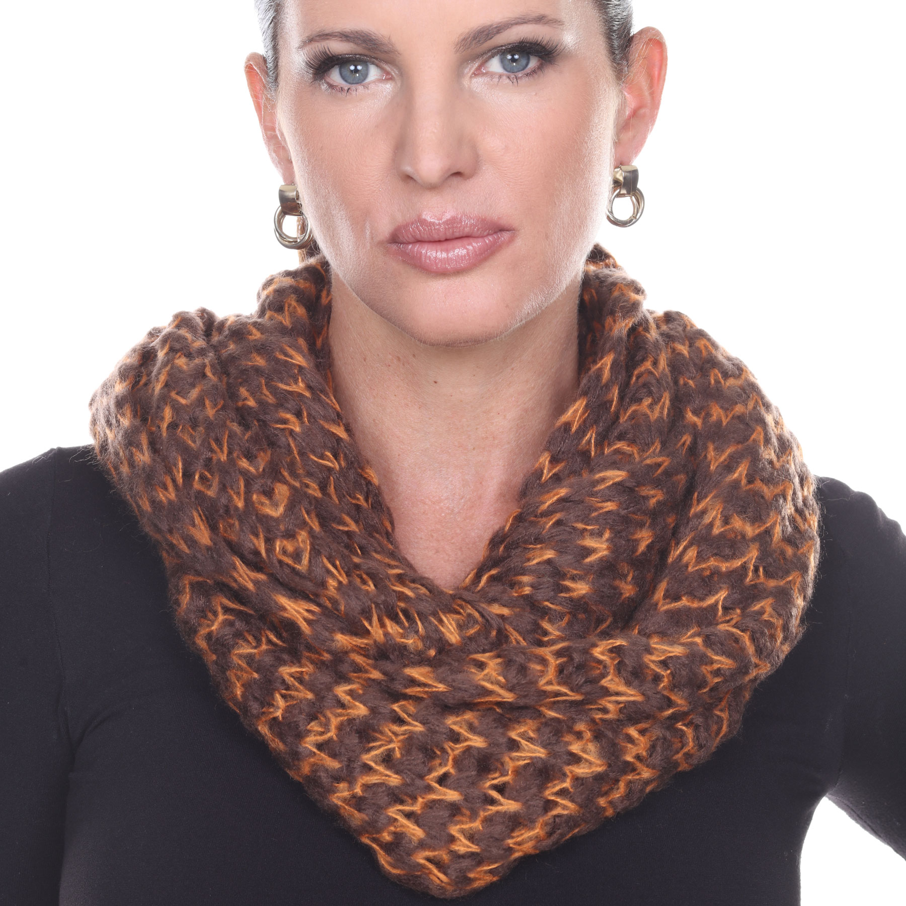 Infinity Scarves - Jagged Stripe 4326*