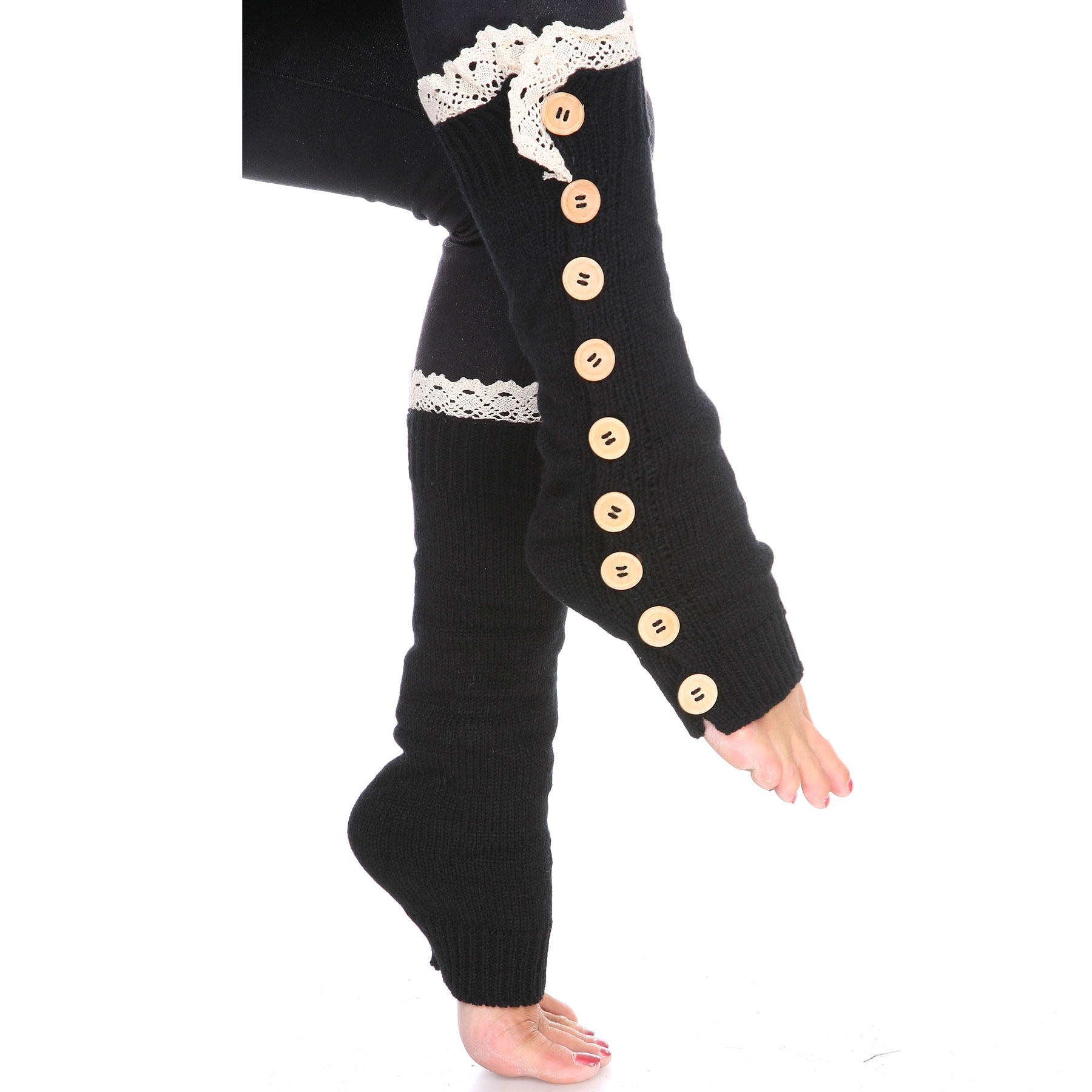 C Nine Button Leg Warmers 264x111